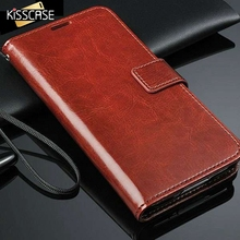 KISSCASE L Retro Flip Case for Samsung Galaxy SV i9600 Leather Wallet Stand Luxury Accessories Elegant Cover for Galaxy S5