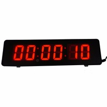2'' Character High 6Digits Wall Clock LED Countdown Clock For Escape Room Games With Remote And Buttons(China)