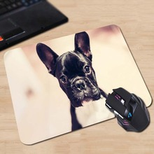 Babaite Cute little dogs Funny Mat Free Shipping Mouse Pad Rubber Mat Two Sizes(China)
