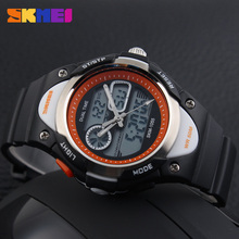 Boys Girls Digital Kids Watch Sports Alarm Stopwatch Cute Watches 50M Waterproof Children's Wristwatches Student Clock New 2016(China)