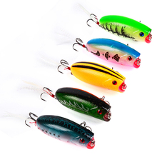 5.7cm 10pcs/lot classic plastic fake chubby road sub-bait 10.42g/pcs bait ebay quick to sell electricity business fishing gear(China)