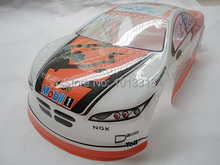 Ewellsold 061 1/10 Scale On-Road Drift Car Painted PVC Body Shell 190MM for 1/10 Radio controlled car 2pcs/lot free shipping