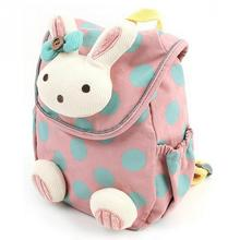 New Fashion Hot Rabbit Anti Stray Toddler backpack softback mini schoolbag Children gifts kindergarten boy girl Gifts Mochila(China)