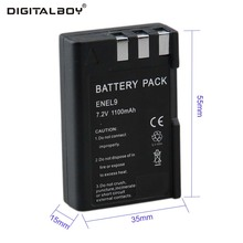 Digital Boy 1100mAh 1Pcs EN-EL9 ENEL9 EN EL9 Camera battery for Nikon D40 D60 D40X D5000 D3000 Wholesale price(China)