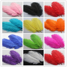 10pcs/lot Natural Ostrich Feather 15-20 cm Colorful Feather Decoration Wedding DIY Feathers Party Plumage Decorative Celebration