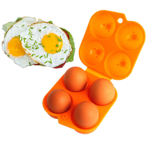 Food preservation Kitchen Convenient Egg Storage Box and Container Hiking Outdoor Camping Carrier For 2 Egg Case(China)