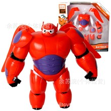 2017 sell like hot cakes Big Hero 6 Baymax Deformation edition action figure Furnishing articles Children's toys Holiday gifts