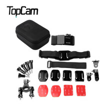 Original Dazzne KT-112 Universal Action Camera Accessory Kit / Chest Belt Helmet Mount Wrist Strip Bike Handlebar Holder Bracket