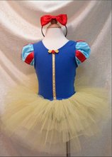 Nicoevaropa 2017 fashion new style baby girls dance dresses kids blue and yellow tutu dresses with headband children clothes