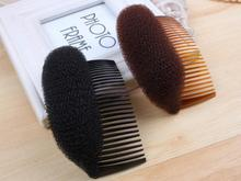 2 Pieces Fashion Hair Accs Volume Bouffant Beehive Shaper Bump Foam On Comb(China)