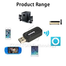 Hot Selling Wireless Bluetooth Music Audio Receiver Adapter Portable Mini USB 3.5mm Bluetooth Audio Receiver for iPhone