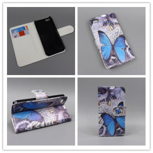 for iPhone 5S Case iPhone SE 5SE New Butterfly Flower Flag Designer Wallet Flip Stand Book Cover Case for iPhone 5S iPhone 5