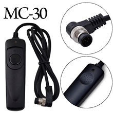MC-30 Shutter Release Remote Control N1 Cable for Nikon DSLR Camera D300 D300s D700 D800 D810 D4 D3 D4s D3x F5 F6 D100 F90(China)