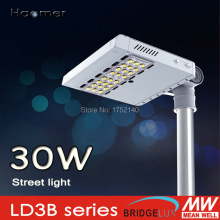 30w led street light. IP67 . irradiation direction adjustment 180 degree, mounting on 60mm pole. Haomer LD3B series Streetlight(China)