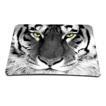 Tiger Head Cheap Notebook Computer Anti-slip Computer PC Rubber Game Mouse Pad Mat Fashion Mousepad Drop Shipping(China)