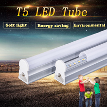 New Led Tube T5 Integrated 300mm 600mm 900mm 1200mm 1ft 2ft 3ft 4ft T5 Led Tube Light Lamp Fixtures 5W 10W 15W 220V Wall Lamps