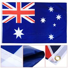 90x150cm Australia Office/Parade/Festival/Worldcup/Home Decoration Australian Flag Country Banner Polyester Fabric Flags Banners