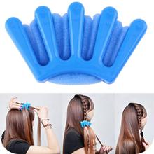 Portable Plastic Sponge Hair Braider Braid Stylist Sponge Plait Hair Twist Styling Braiding Tool(China)