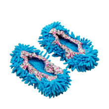 1pair Dust Cleaner Grazing Slippers House Bathroom Floor Cleaning Mop Cleaner Slipper Lazy Shoes Cover Microfiber Duster Cloth(China)