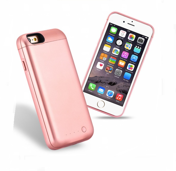 Top Quality Battery case for iPhone6 case 6s Backup Charger Cover for iPhone6 case 6s font