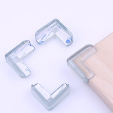 10pcs Baby safty Infant Collision Clear Table Desk Corner Edge Guard Cushion Baby Safety Bumper Protector