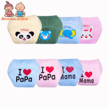 1 piece cotton baby washable cloth diaper reusable nappies / LABS training pants briefs infant boy girl underwear ftrx0014