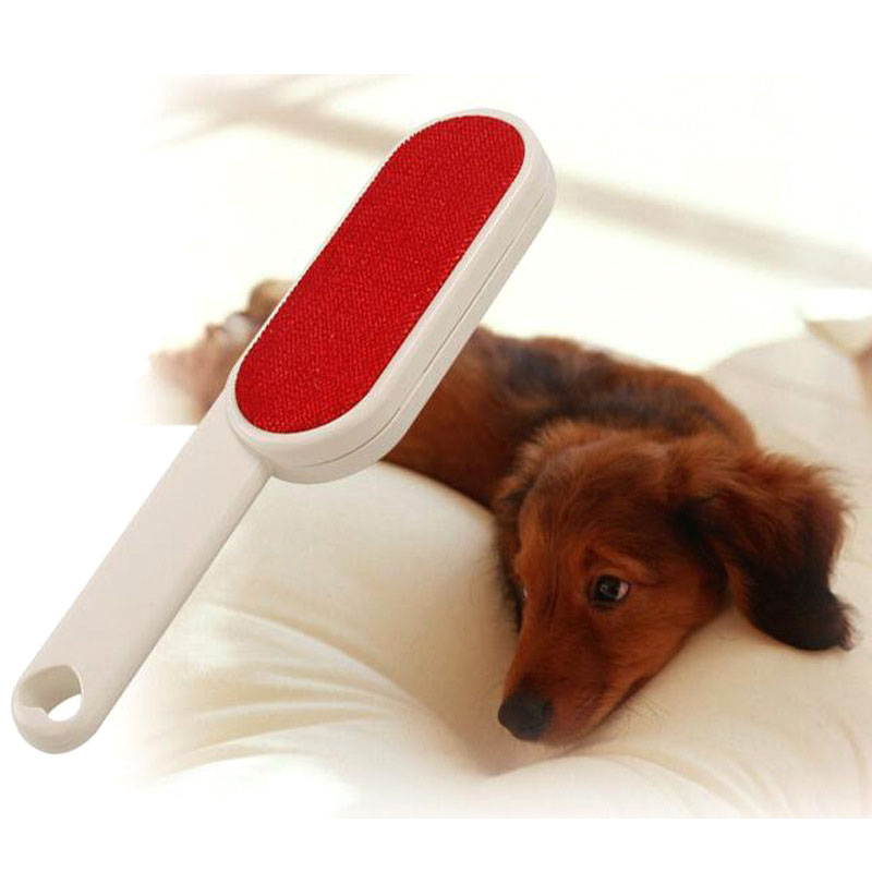 Double Sided Lint Remover Brush Velour Surface for Pet Hair Clothes Dust and Lint, Pet Grooming Accessories2