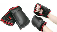 Boxing Sport Game Glove for Nintendo Wii Remote Nunchuk Controller(China)