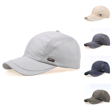 Fashion Unisex Casual Mesh Quick Dry Adjustable Golf Sport Baseball Cap Hat