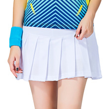 tennis skirts skort badminton beach volleyball skorts anti exposure women girl skirt ladies sport skirts tennis shorts(China)