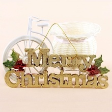 1 pcs 2018 Christmas decoration store creative Merry Christmas letter door listing(China)