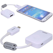 Phone Accessory Micro USB MHL to HDMI Phone Cable Adapter for Samsung Galaxy Note 3 4 S3 S4 S5 HDTV