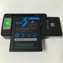 3.7V 3000mAh For Neo N003 Battery + YIBOYUAN SS-8 LCD Universal Charger(China)