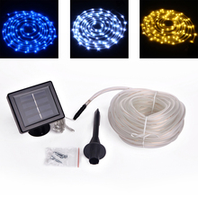 Waterproof Solar Powered Led String Fairy Light Christmas String Lights Party Light Light-emitting diode tape Lamp