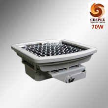 AC100-277v 50/60Hz IP68 UL ATEX 70w explosion proof LED gas station light with u-shape bracket for zone 1 class I area(China)
