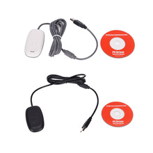 1PCS Black grey PC Wireless Gaming USB Game Receiver Adapter For Xbox360 Xbox 360 Controller gifts for kids boys(China)