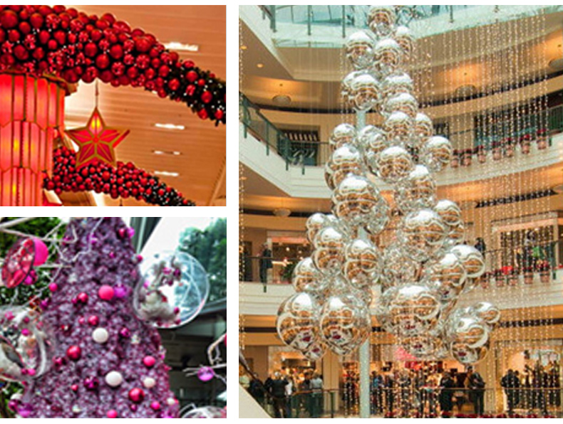 11 inhoo 24PCSset Christmas ornament 468cm Christmas Tree Balls Baubles Xmas for Home Party Colorful Wedding Decoration Supplies