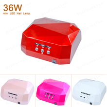 Fashion CCFL 36W LED Light Diamond Shaped Best Curing Nail Dryer Nail Art Lamp Care Machine for UV Gel Nail Polish EU/US Plug