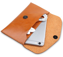 Microfiber Leather Sleeve Pouch Bag Phone Case Cover For Vkworld T2 T3 T5 T5 SE T6 / G1 / G1 Giant 4G LTE