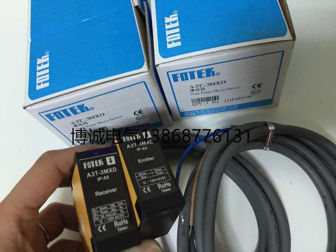 New original FOTEK/ Photoelectric switch A3T-3MXD<br>