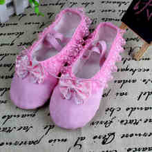 Buy Hot Selling Soft Dancing Ballet Shoes Girl Women Comfortable Fitness Breathable Canvas Practice Gym Slippers Shoes 4031 for $4.20 in AliExpress store