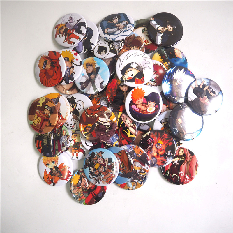 1 Pcs Xmas Gifts Naturo Cosplay Anime Badge Button Pin Brooch Badges backpacks acessorios cosplay Small Toy Button Badge NAA<br><br>Aliexpress