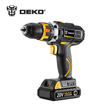 DEKO GCD20DU2 20V DC Household DIY Woodworking Lithium-Ion Battery Cordless Drill/Driver Power Tools Electric Drill Power Drill(China)
