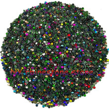 Hotfix rhinestone,1440pcs/bag,SS5(1.6mm) B Grade,Mix color glass Crystal Rhinestone Garment Accessories for dress,clothes,hat