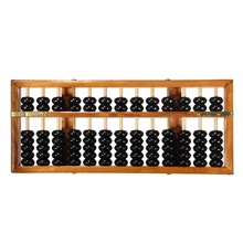 Chinese Ancient Abacus Soroban Beads Column Kid School Learning Tool Math Business Chinese Traditional abacus Educational toys