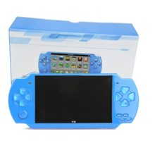 Handheld Game Player With 10000 Games 8G 4.3 Inch Portable Video Game Console Support for PSP Game Camera Video E-book Music(China)