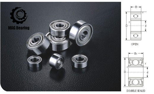 10PCS Excavator bearing 63801 2RS 63801-2RS 12*21*7mm 12X21X7mm Double Shielded Deep Ball Bearings Large breadth<br>