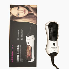 Newest Used Hair Salon Equipment 2 Temperature/Speed Automatic Far Infrared 3 in 1 Hair Dryer Brush(China)
