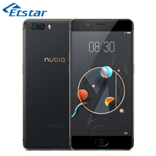Original Nubia M2 5.5'' Smartphone Snapdragon 625 Octa Core 4GB RAM 64GB ROM Dual Rear Cameras Android 6.0 Mobilephone