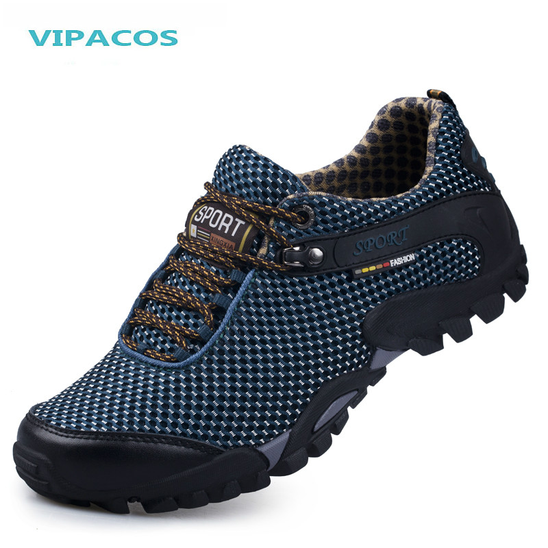 VIPACOS 2016 Autumn Mens Hiking Shoes Sneakers Outdoor Breathable Sports Shoe Climbing Trekking Walking Boots free shipping<br><br>Aliexpress
